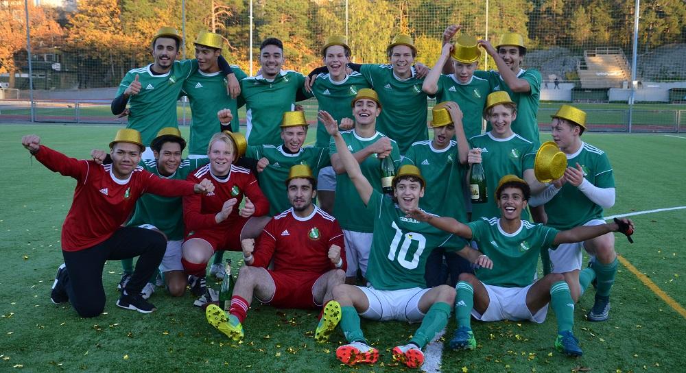 Efter att ha vunnit serien i helgen kvalificerade sig Sundbybergs IK  Fotbolls Herrjuniorer för spel i U19 Div 1 nästa år 5ae656dfea698